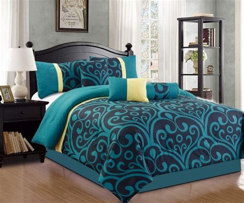 Image of: Tiffany Blue Bedding Queen