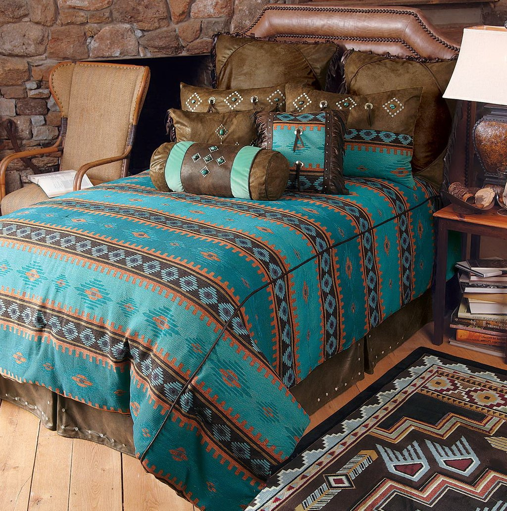 Image of: Turquoise Western Bedding Set Home Design Idea Western Baby Bedding Nursery Theme
