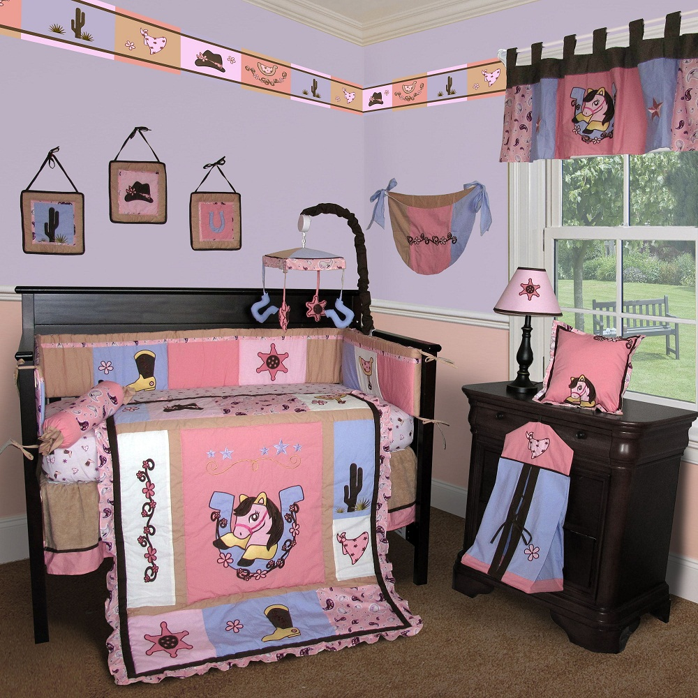 Image of: Unique Baby Girls Crib Bedding