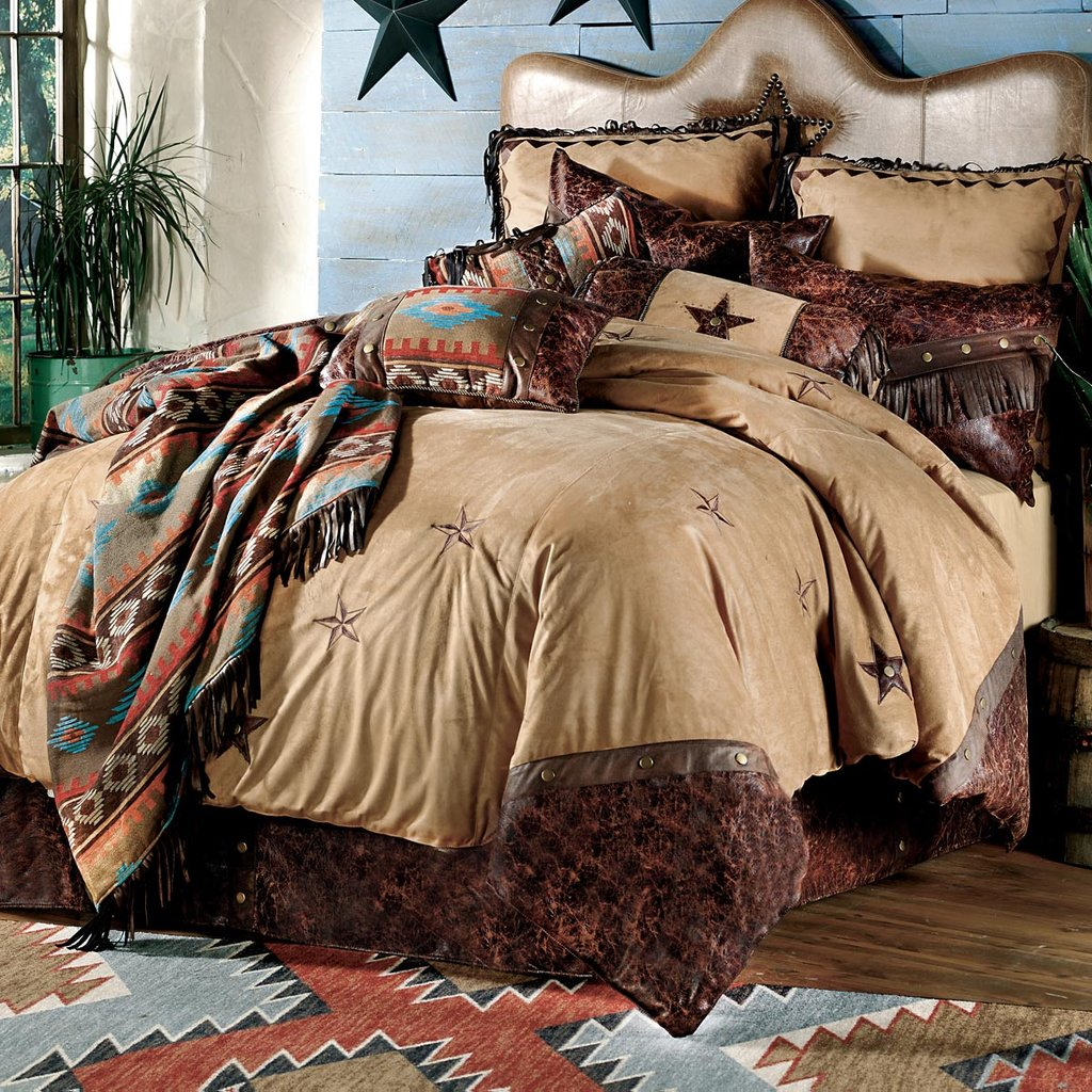 Image of: Western Bedding Starlight Trail Bedding Collection Lone Western Baby Bedding Nursery Theme