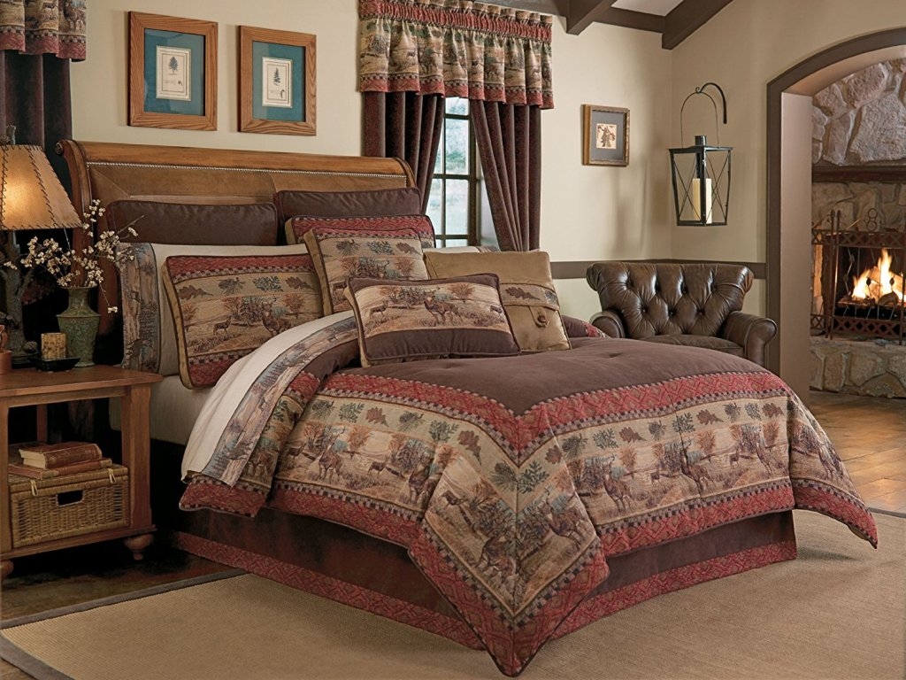 Image of: Wildlife Bedding Sets Design