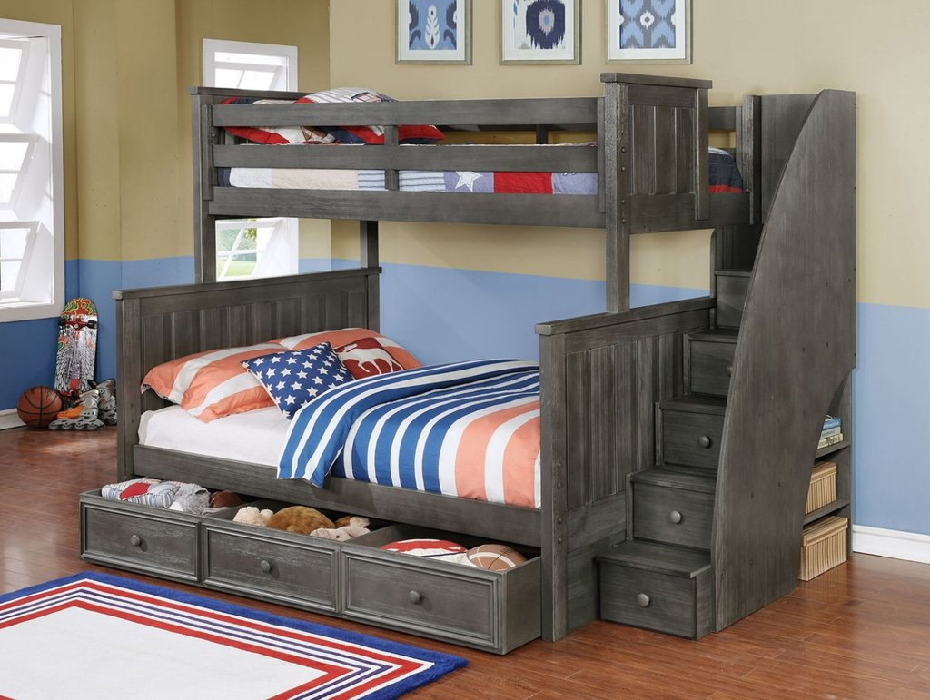 15 Collection Bunk Bed Twin Full   Bunk Bed Tent Active Writing Loft Bed Curtain Set For Childs