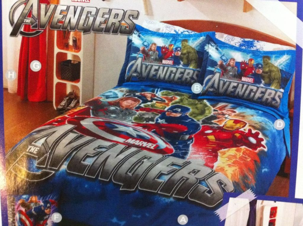 Image of: Avengers Bed