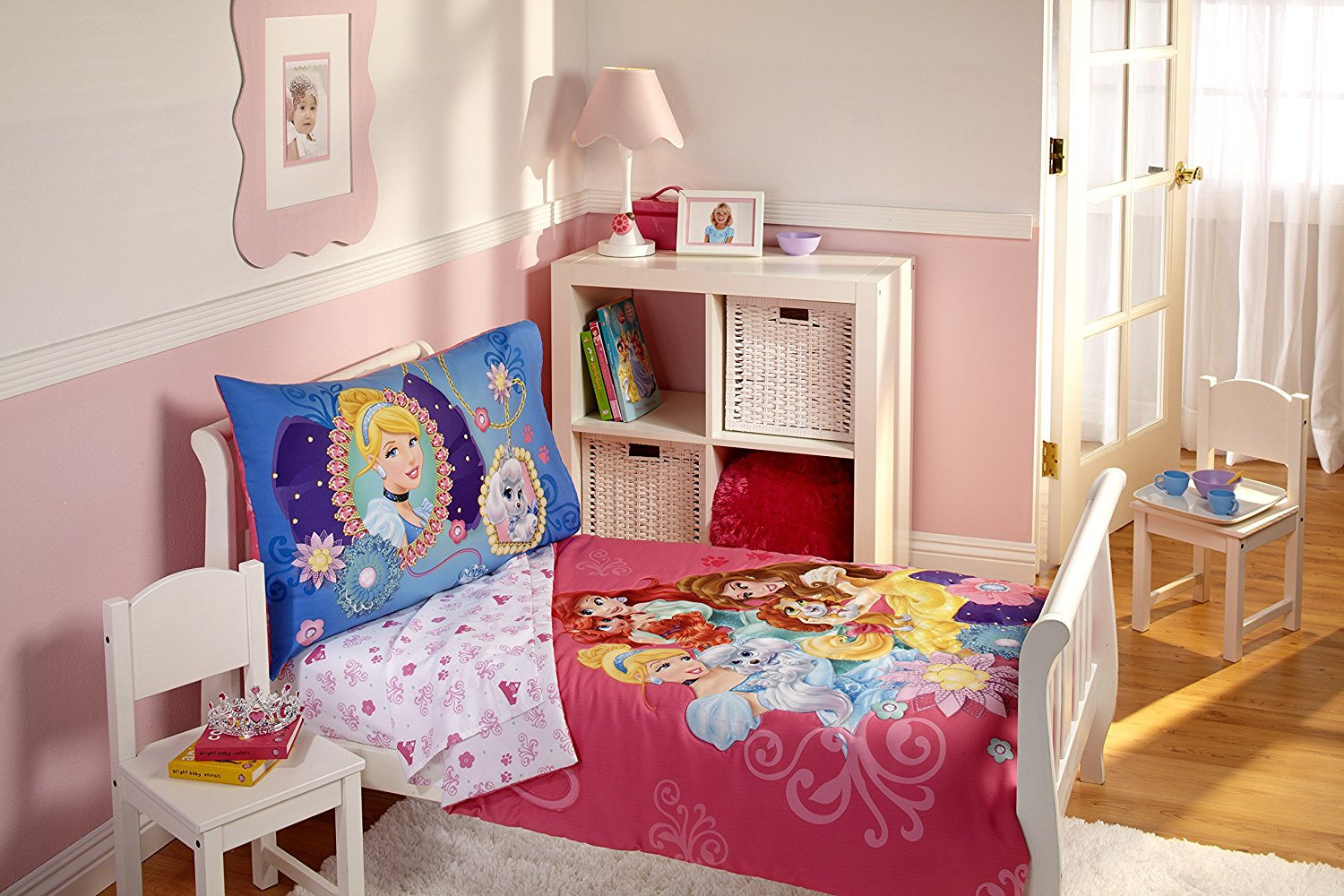 Image of: Beauty and the Beast Toddler Bedding Set Ideas