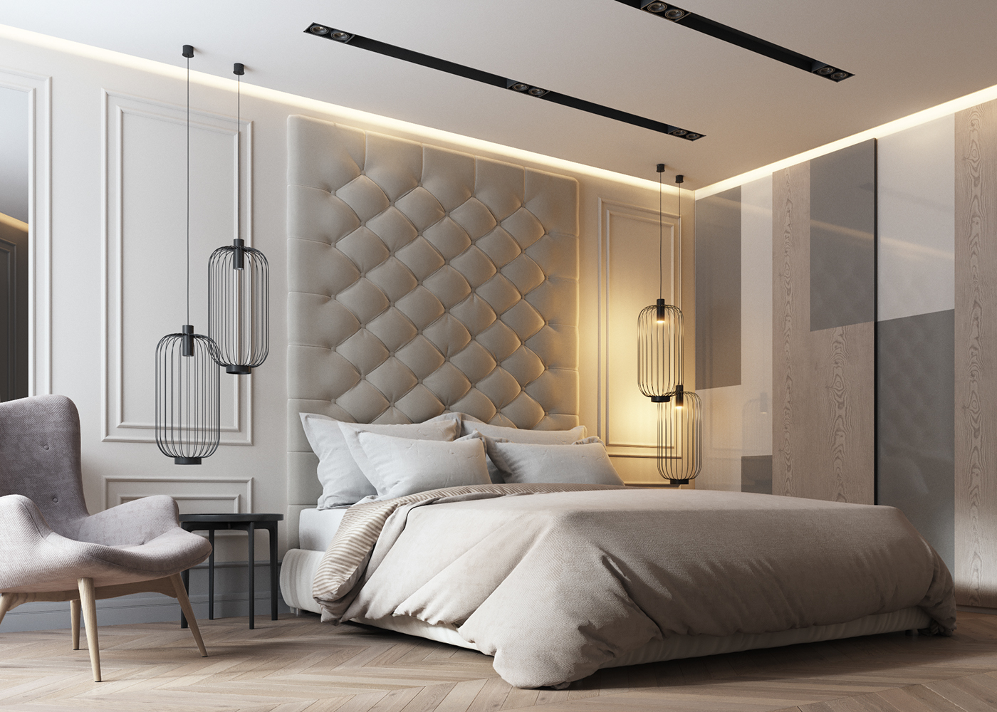 Image of: Contemporary Bedroom Decorating Ideas