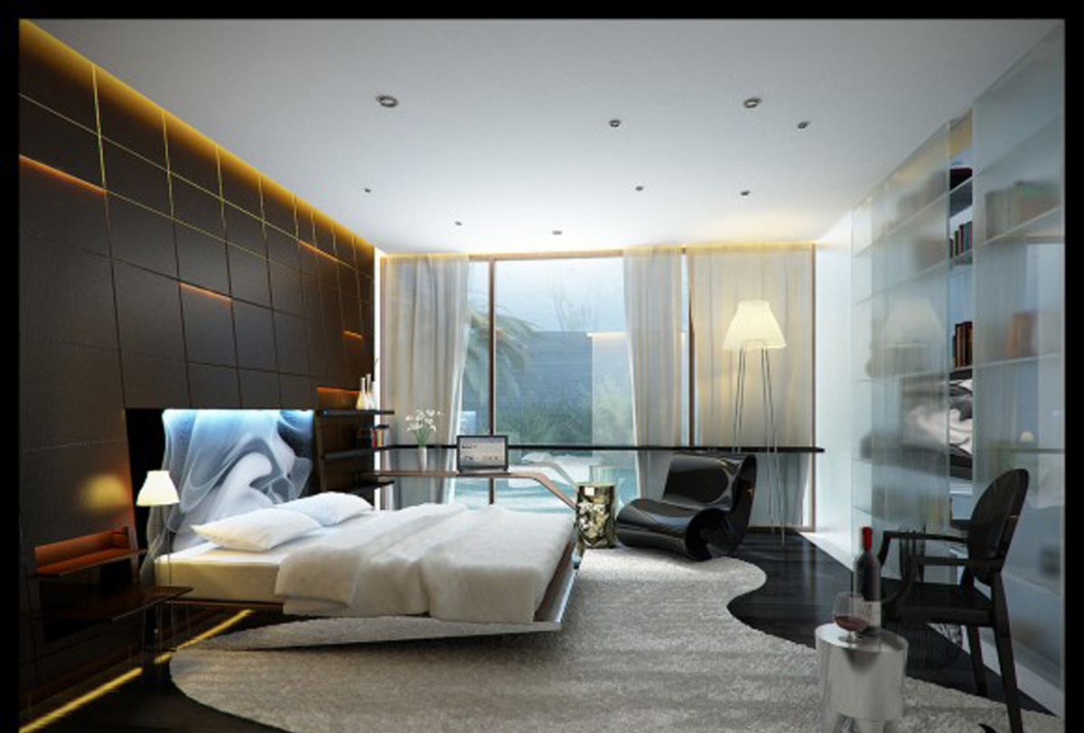 Image of: Contemporary Bedroom Set