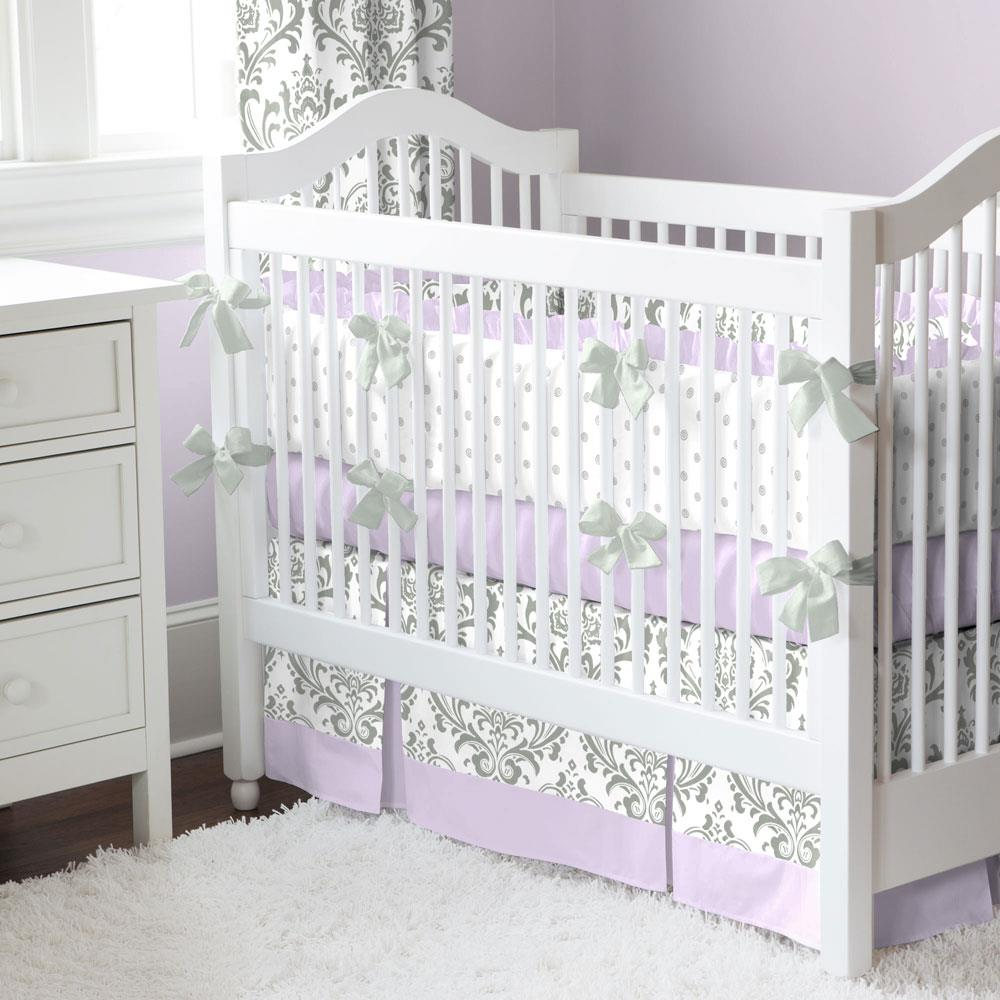 Image of: Crib Bedding Sets For Girls Style