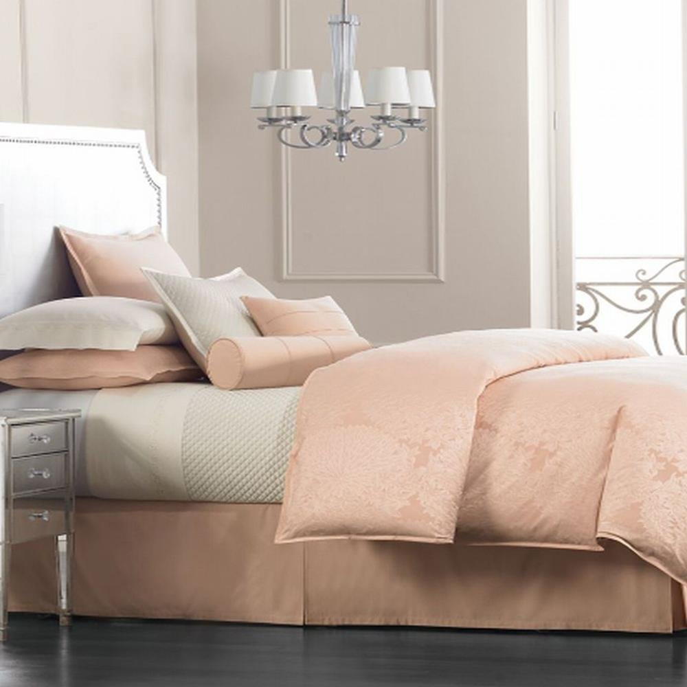 Image of: Hotel Collection Salon Dahlium Full Queen Duvet Cover Dusty Pink Bedding Sets Queen Ideas