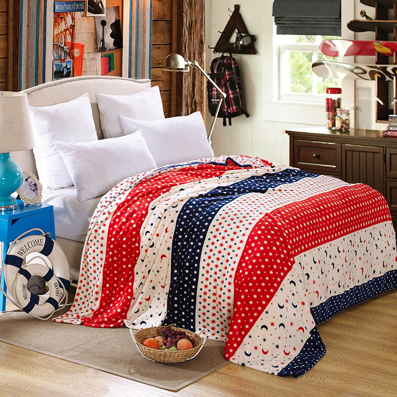 Image of: Moon And Stars Comforter Decorations