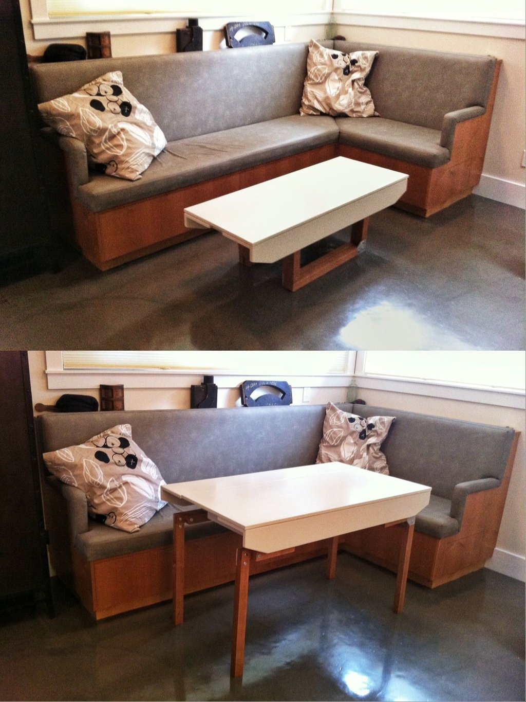 Image of: Sofa Table Convert Dining Table 28 Image Pink Bedding Sets Queen Ideas