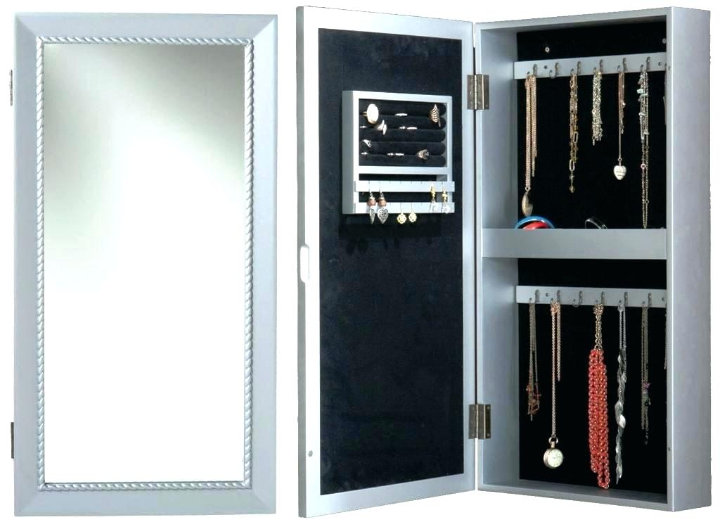 Image of: Awesome Modern Jewelry Armoire