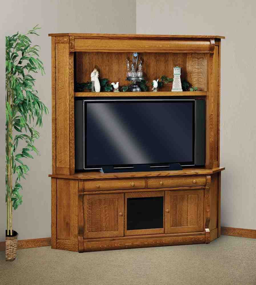Corner TV Armoire Screens