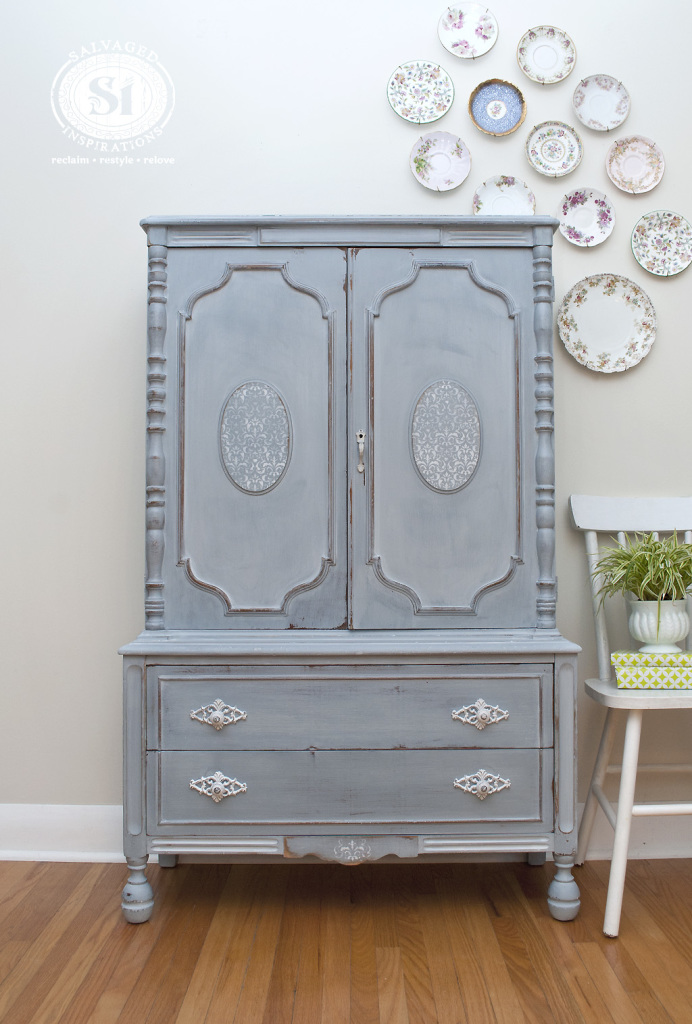 Custom French Country Armoire