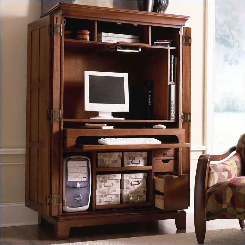 Image of: Image Computer Armoire