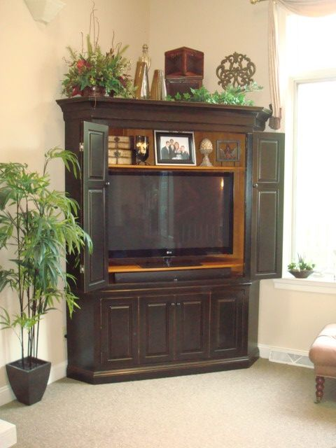 Interest Corner TV Armoire