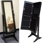 Interest Stand Up Mirror Jewelry Armoire