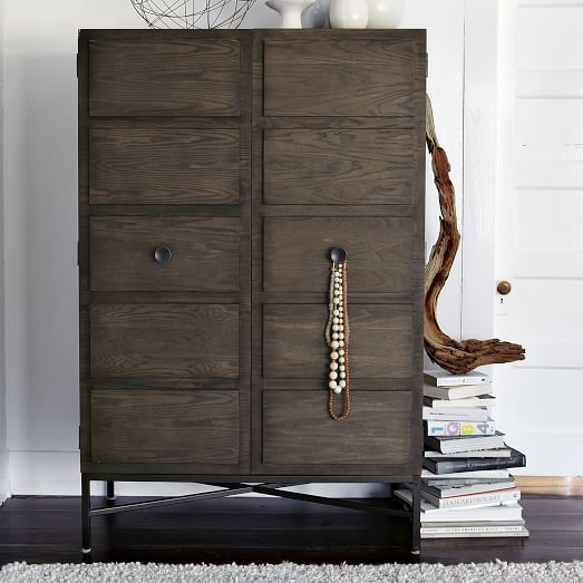 Interest West Elm Armoire