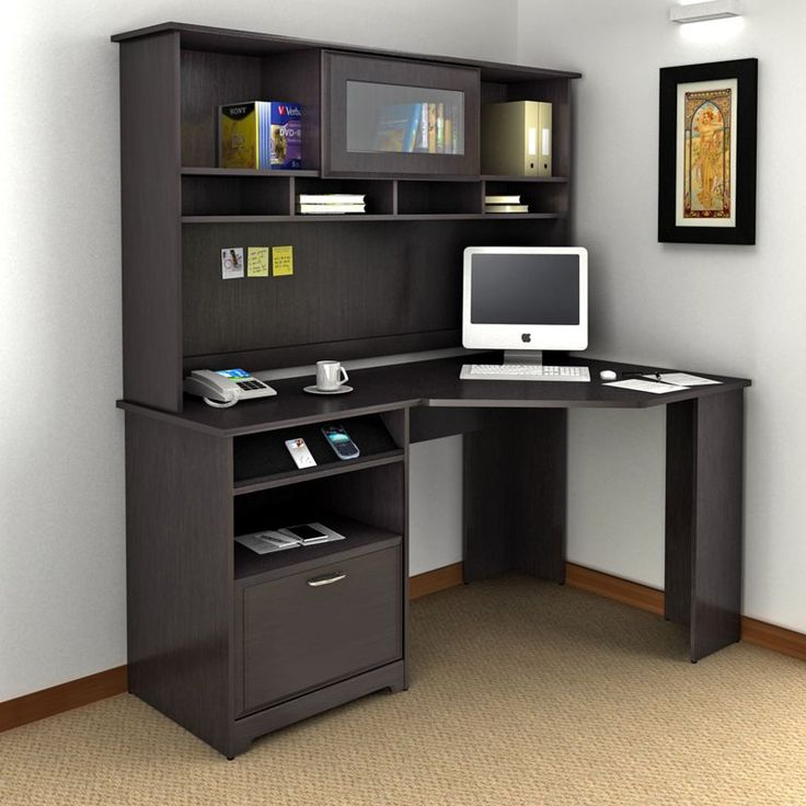 Large Corner Armoire Desk