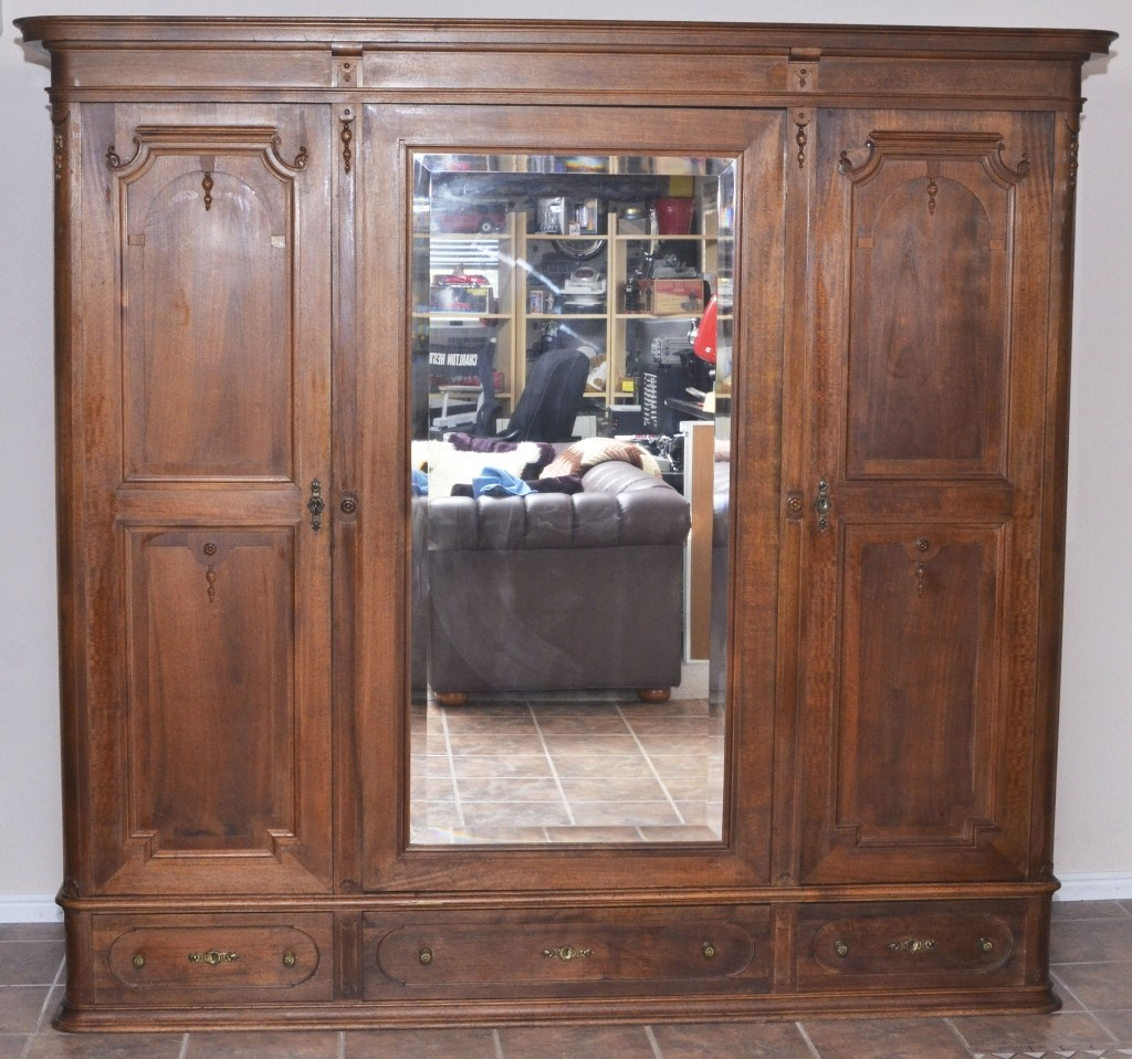 Large Unfinished Armoire