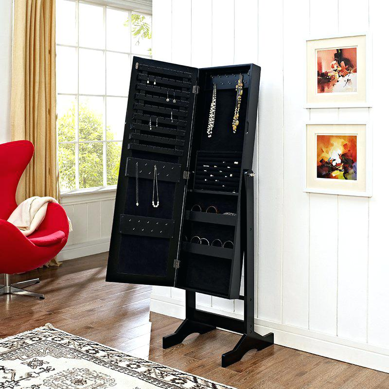 Image of: Modern Jewelry Armoire Fueerniture