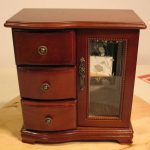 Modern Jewelry Box Armoire