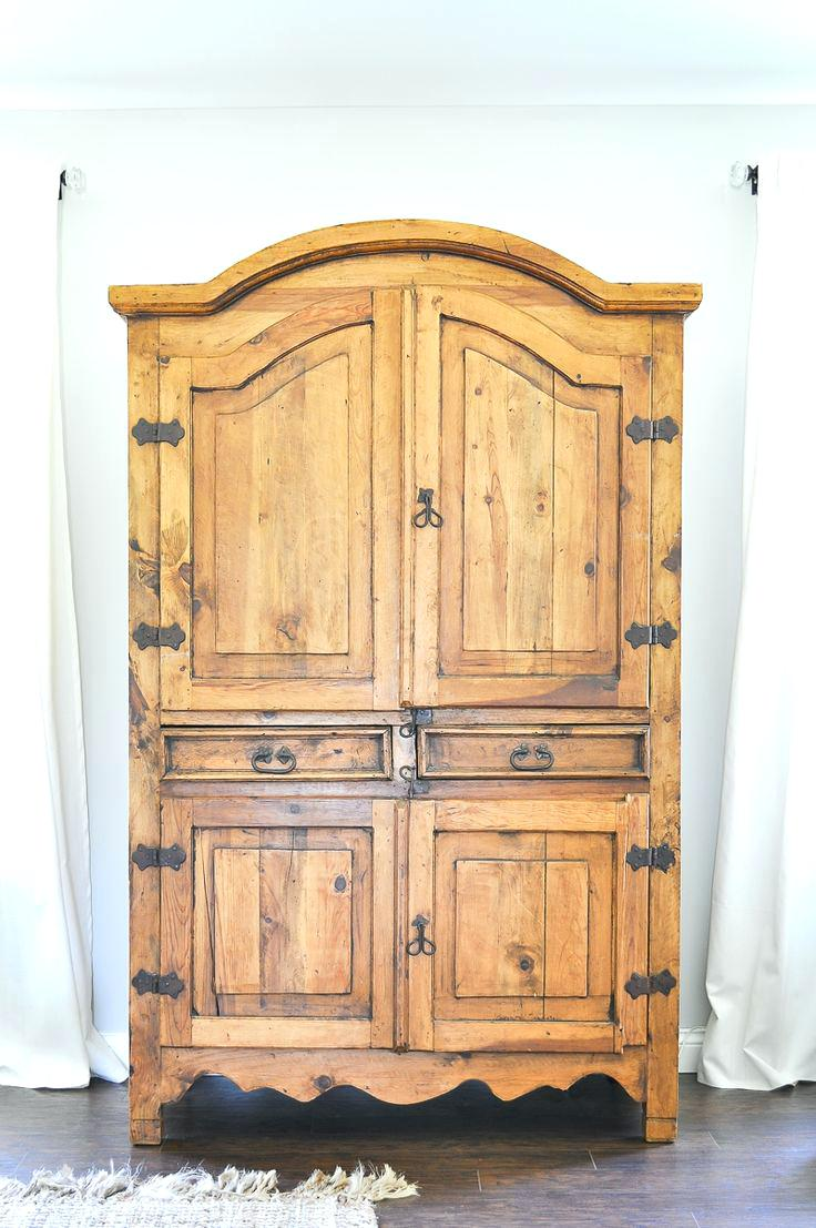Rustic West Elm Armoire