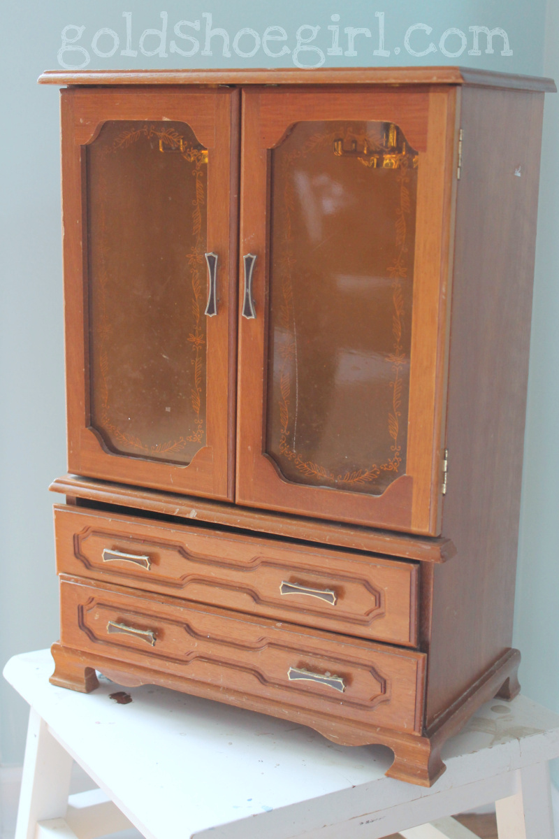 Simple Jewelry Box Armoire