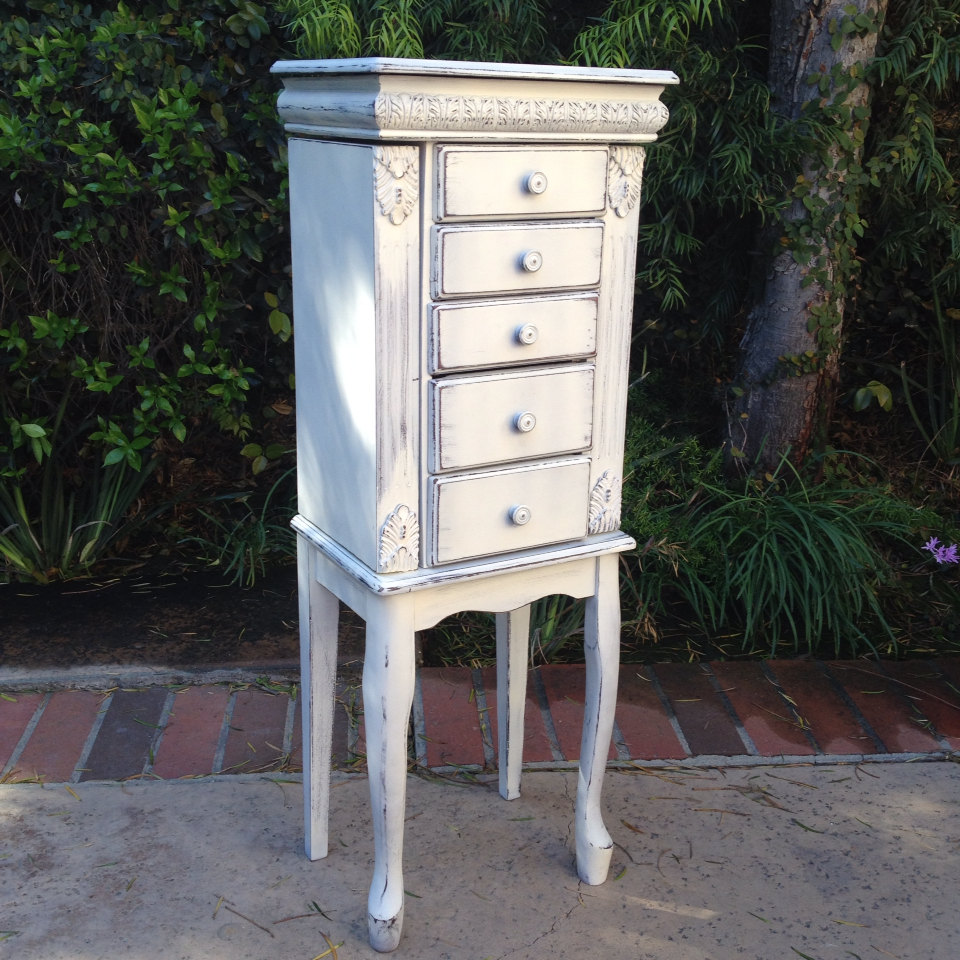 Tall Jewelry Box Armoire