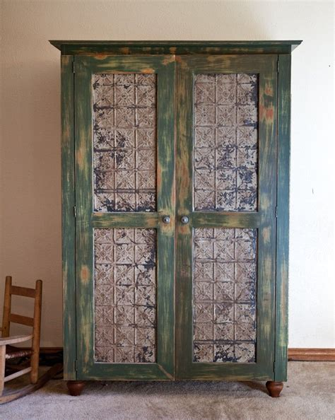 Traditional Rustic Jewelry Armoire