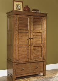 Image of: Traditional Wood Armoire Wardrobe