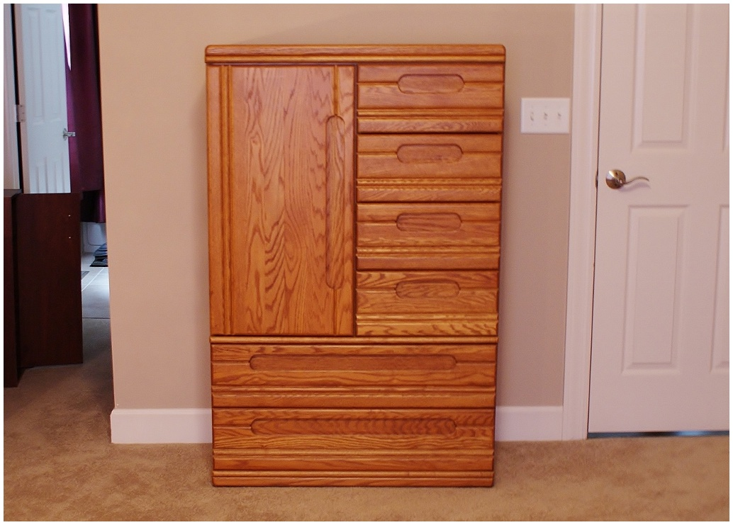 Unfinished Armoire Storage