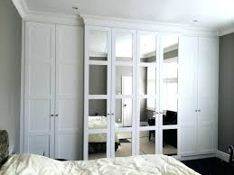 White Armoire with Mirror Door