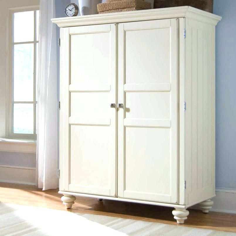 White Small Armoire