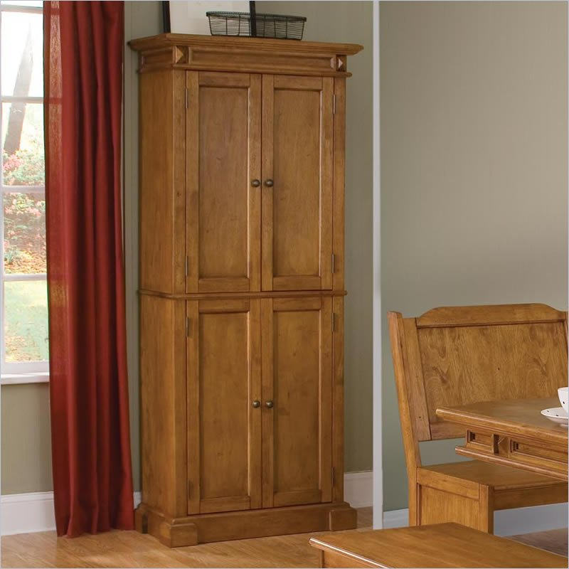 Wood Pantry Armoire