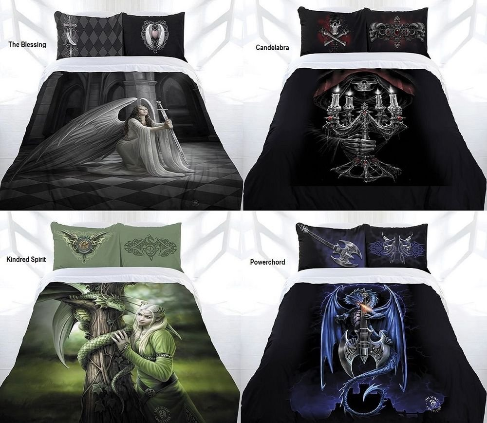 Image of: Arrival Anne Stoke Gothic Fairy Angel Quilt Cover Set Brief Article Teaches You the Ins and Outs of Gothic Bedding and What You Should Do Today