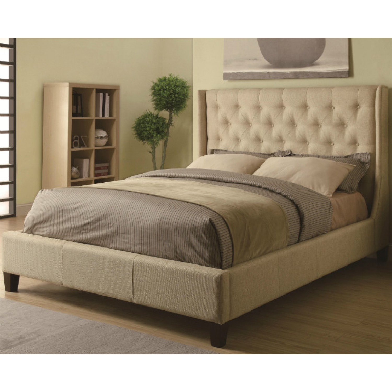 Bed Frame With Headboard