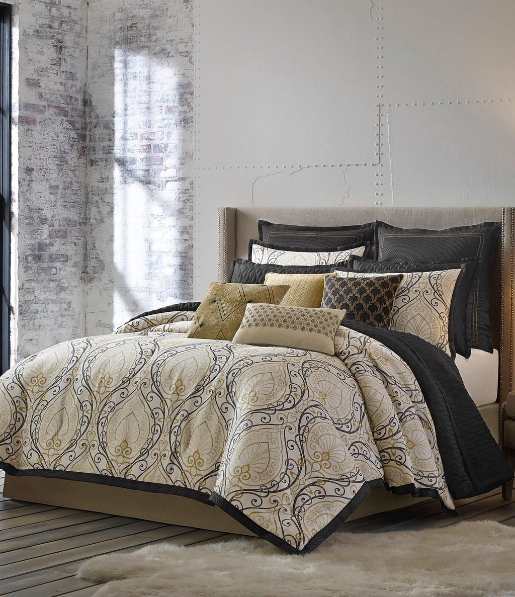 Image of: Candice Olson Releve Scroll Jacquard Comforter Set Dillard The Advantages of Candice Olson Bedding