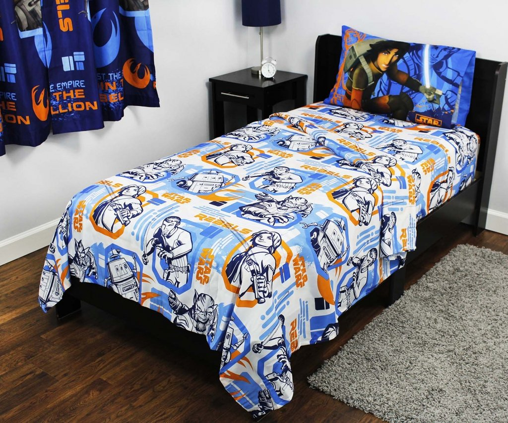 Image of: Cheerful Asked Lucasfilm Design Limited Create a Star Wars Bedding Full