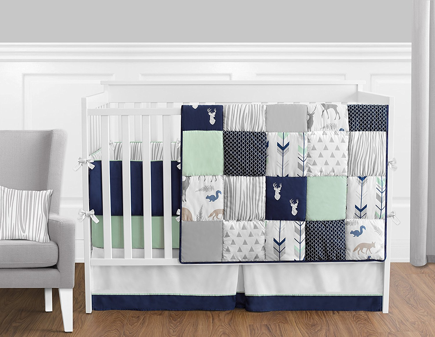 Image of: Crib Bedding Sets for Girls Ideas