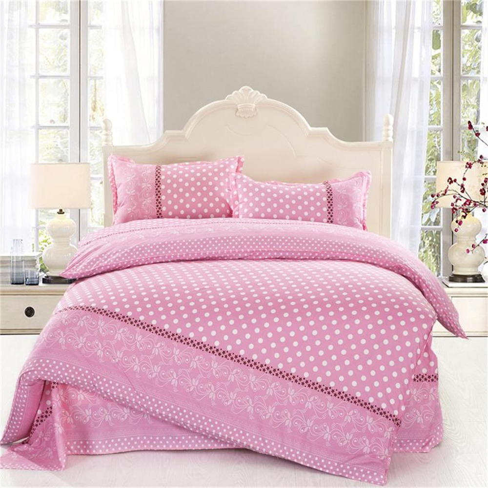 Image of: Cute Solid Pink Comforter