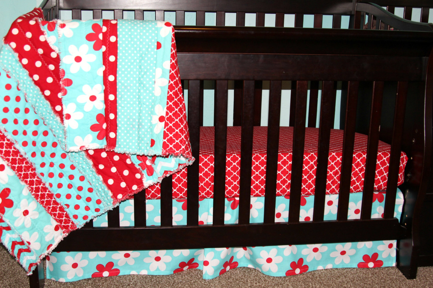 Image of: Discount Crib Bedding Sets Color
