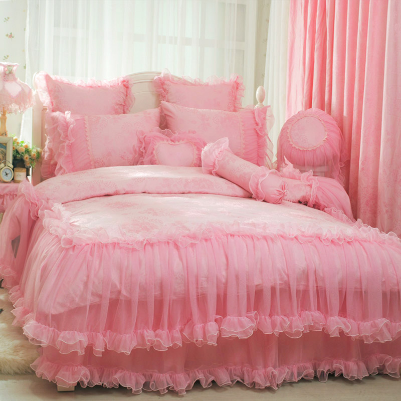 Image of: Dusty Rose Comforter Decors