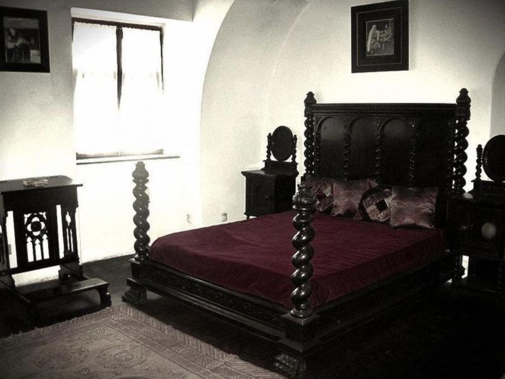 Image of: Gothic Bed Frame