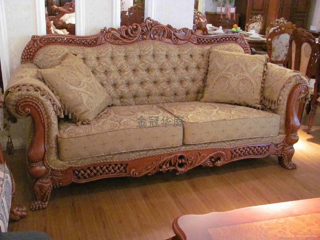 Image of: Latest Wooden Sofa Set Design Picture Sofa Bed Set Decor