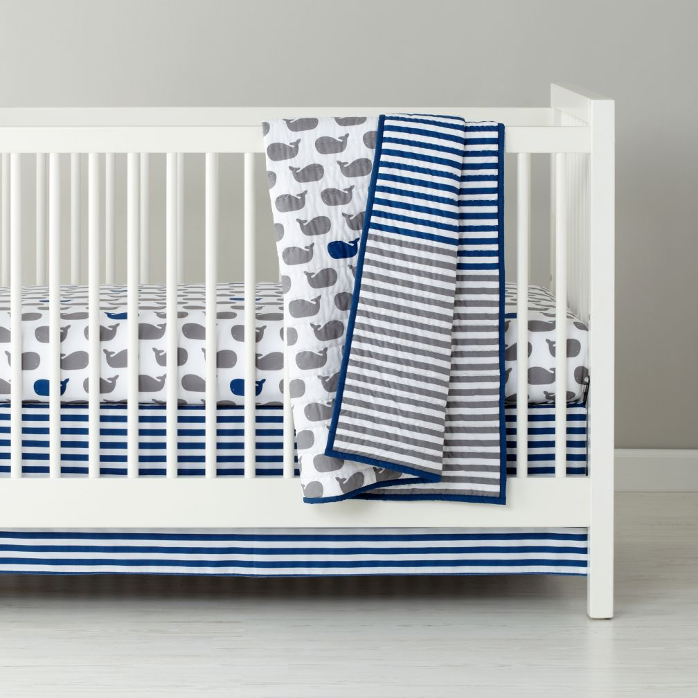Image of: Navy and Gray Bedding
