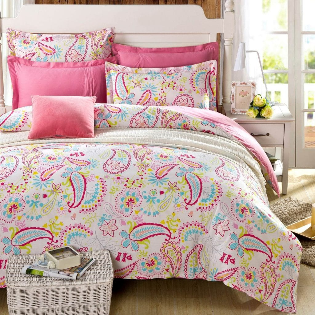 Image of: Pink Comforter Twin Designs
