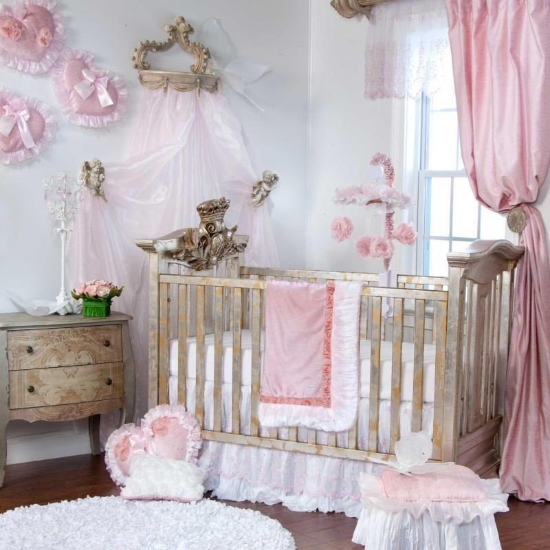 Image of: Princess Crib Disney Princess Enchanted 4in1 Crib White The Most Ignored Fact About Princess Crib Bedding Exposed