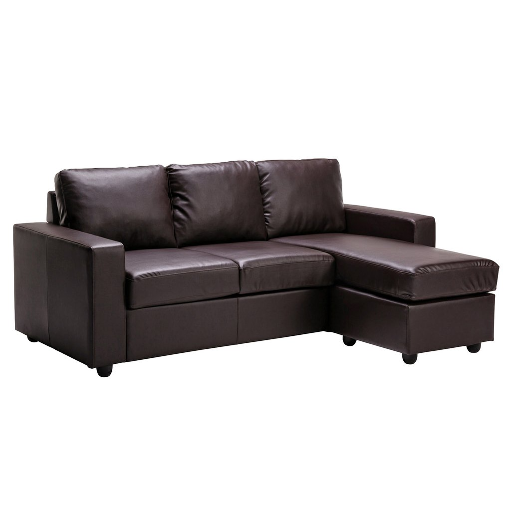 Image of: Shape Brown Leather Sofa Contemporary Shaped Brown Leather Sectional Sofa Modern Wood The Space Available for Queen Size Skull Bedding Sets