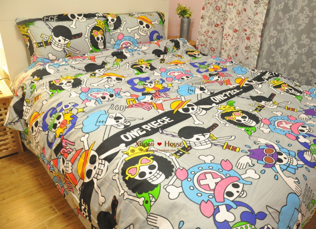 Image of: Skull Bedding Set