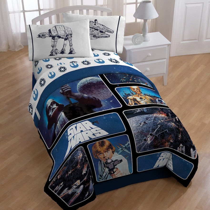 Image of: Star War Bedding Kohl 39 Create a Star Wars Bedding Full